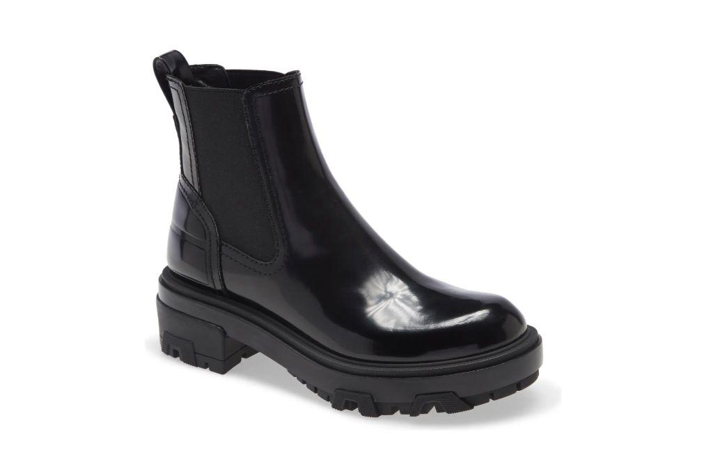 Rag & Bone, Shay Lug Sole Chelsea Boot, Black Boots
