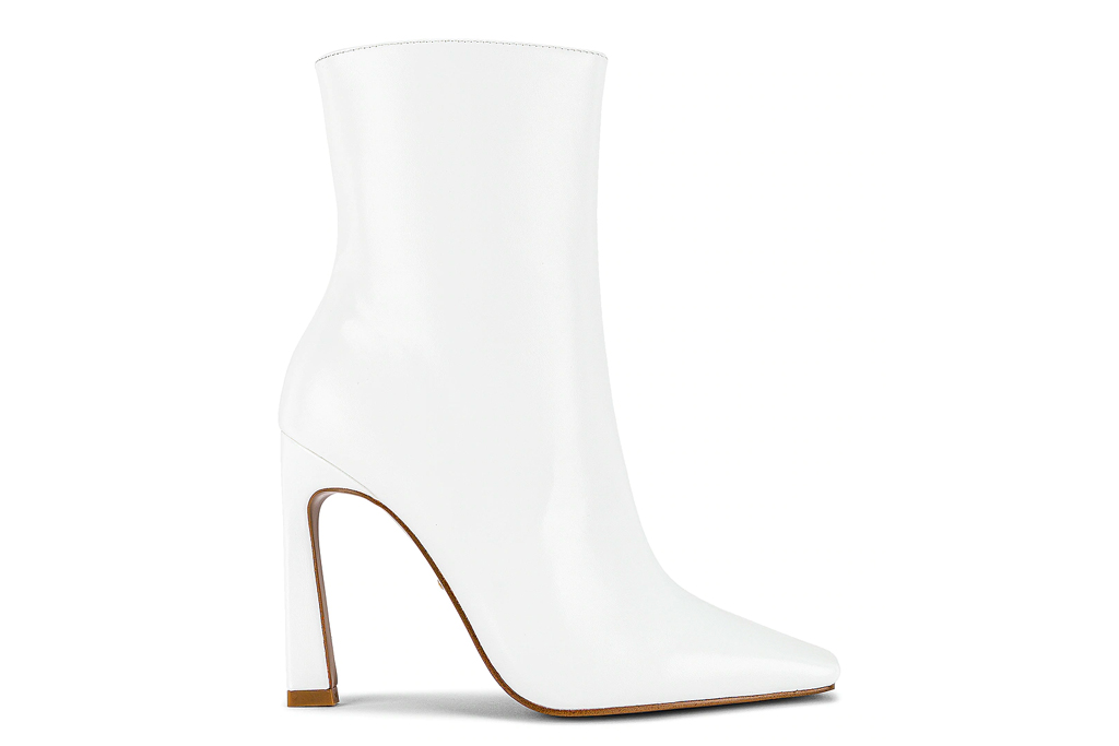white boots, raye, pointed toe