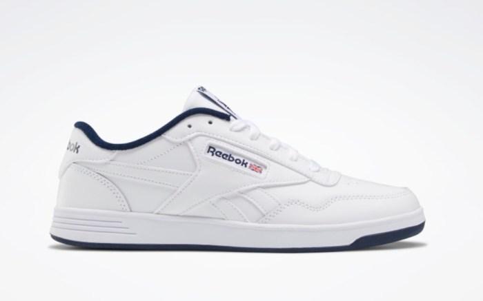 Reebok Club Memt Men's Shoes, White Shoes, Best White Reebok Sneakers