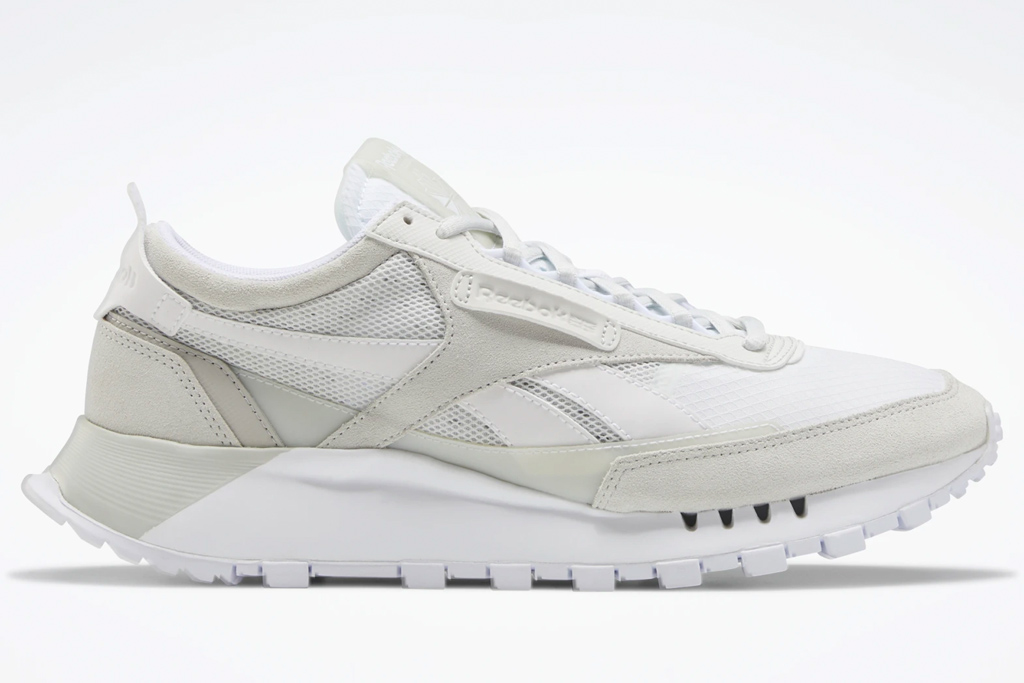 sneakers, reebok, white