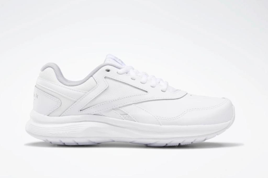 Reebok Walk Ultra 7 DMX Max Wide Women's Shoes, White Shoes, Best White Reebok Sneakers
