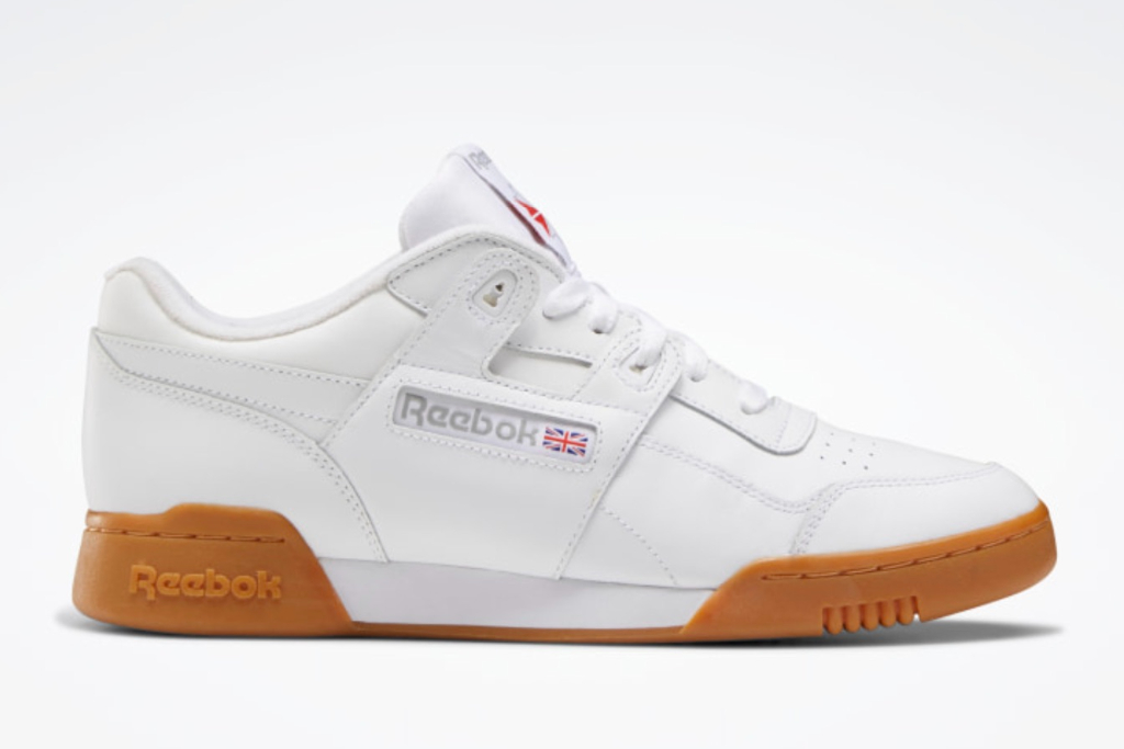 Reebok Workout Plus Shoes, White Shoes, Best White Reebok Sneakers