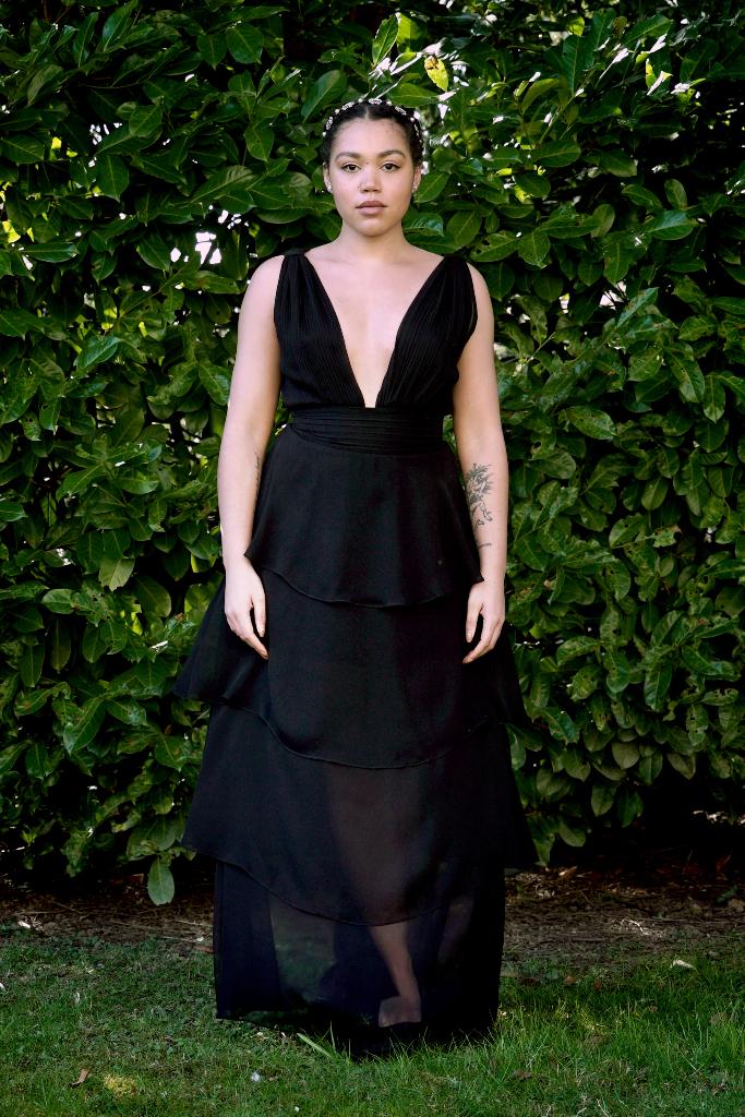 Ruby Barker, Black Gown, SAG Awards 2021