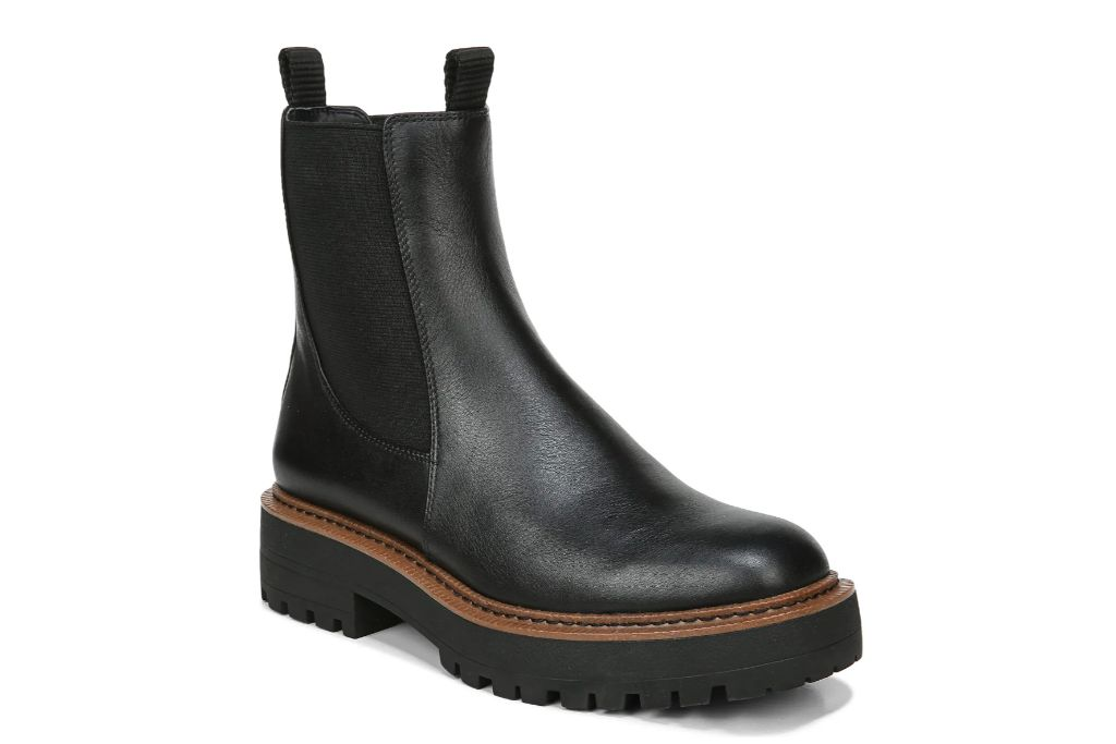 Sam Edelman, Laguna Chelsea Boot, Black Boots