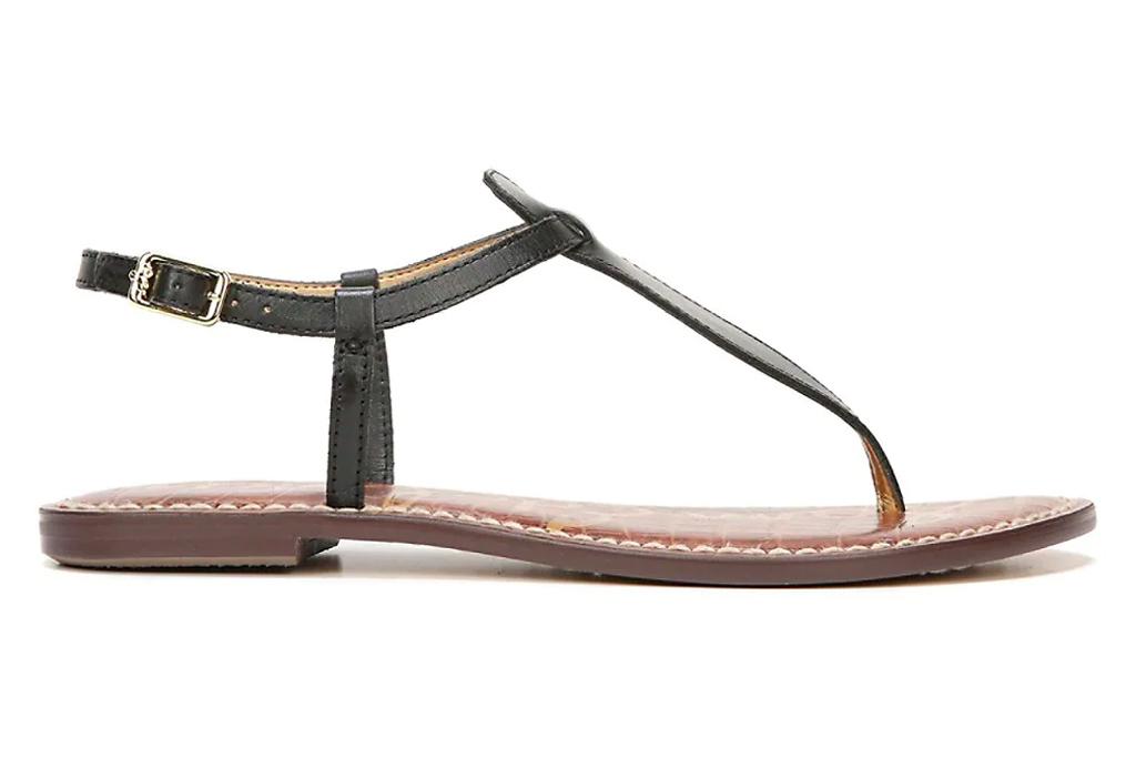 thong sandals, flats, sam edelman