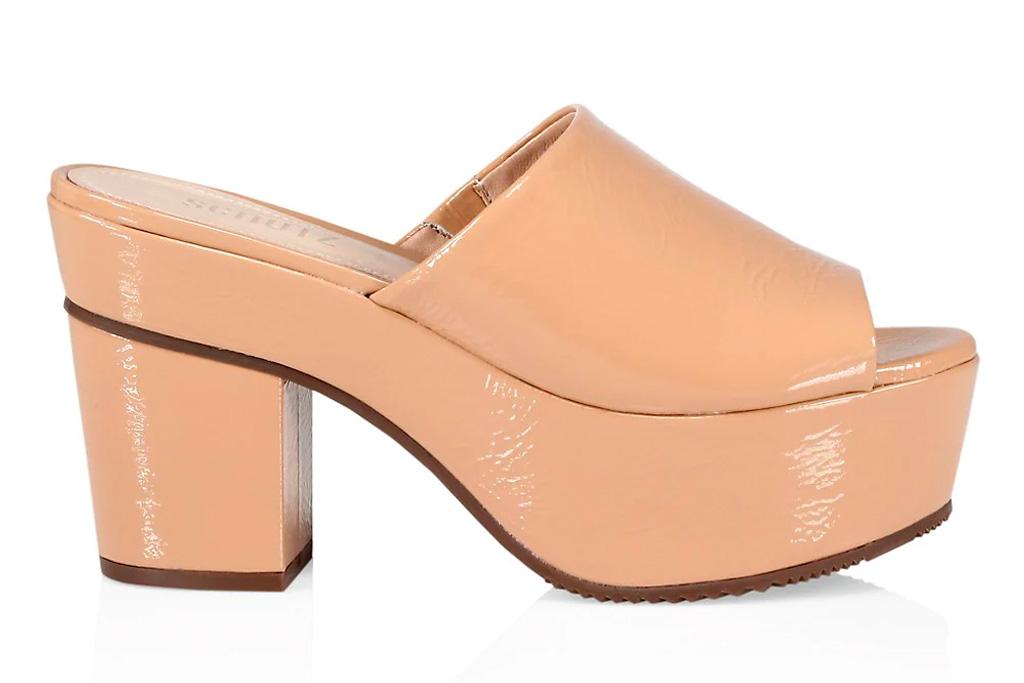 mules, heels, schutz
