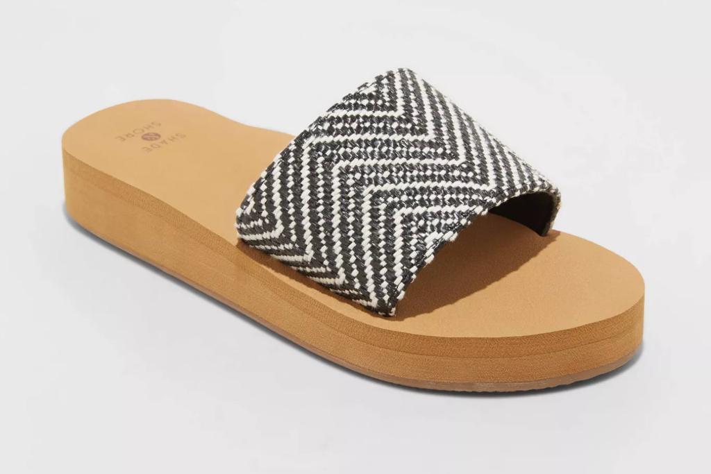 Shade & Shore Catalina Platform Slide Sandals, Target Sandals, Platform Sandals
