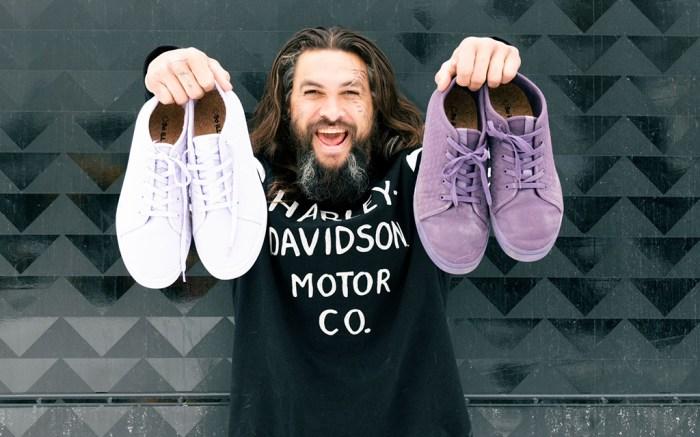 Jason Momoa, sneakers, so ill, collaboration