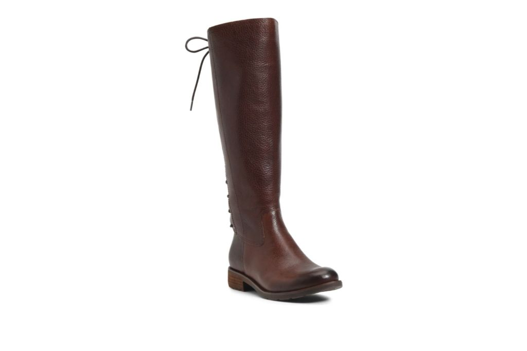 Soft, Sharnell II Waterproof Knee High Boots, Brown Knee High Boots