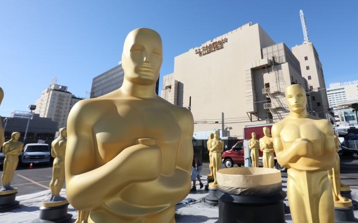 Preparations for the 88th Annual Academy Awards Continue at Hollywood & Highland Center in Hollywood, California.Pictured: AtmosphereRef: SPL1232918 240216 NON-EXCLUSIVEPicture by: SplashNews.comSplash News and PicturesUSA: +1 310-525-5808London: +44 (0)20 8126 1009Berlin: +49 175 3764 166photodesk@splashnews.comWorld Rights