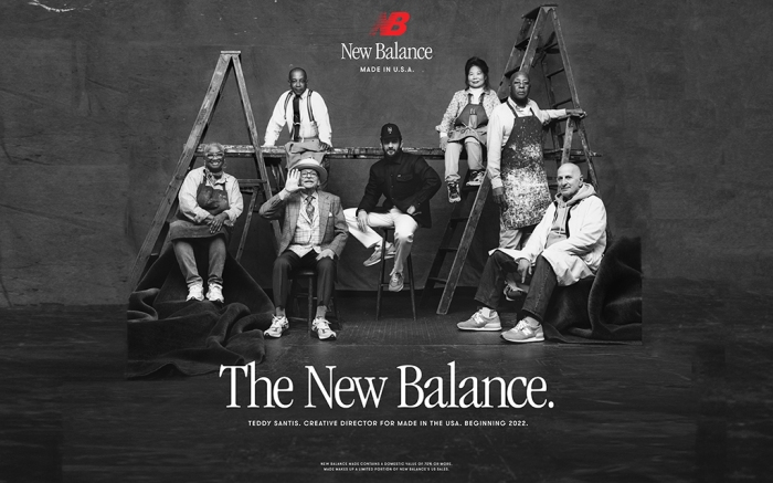 Teddy Santis New Balance