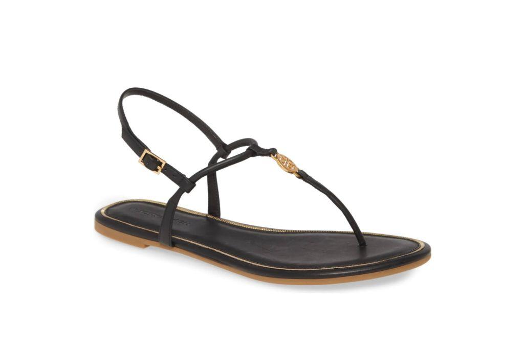 Tory Burch, Emmy Sandal, Black Sandals
