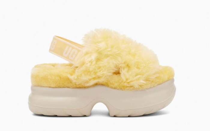 Ugg Fluff Sugar Slide, Sustainable Shoes, Slippers