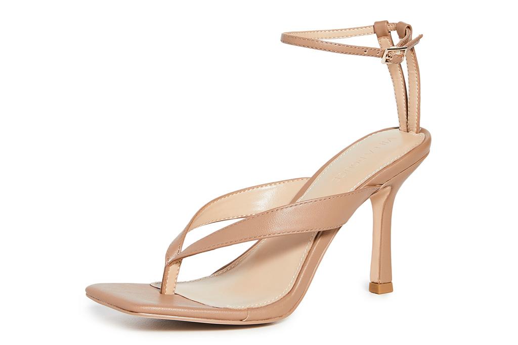 thong heels, villa rouge