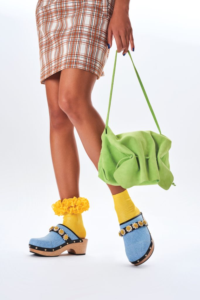 clogs, clog shoes, how to wear clogs, clog shoe trend, spring 2021 fashion trends, spring 2021 trends, trends, fashion, shoes, fabrizio viti