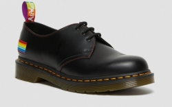 dr. martens, 1461 pride smooth leather
