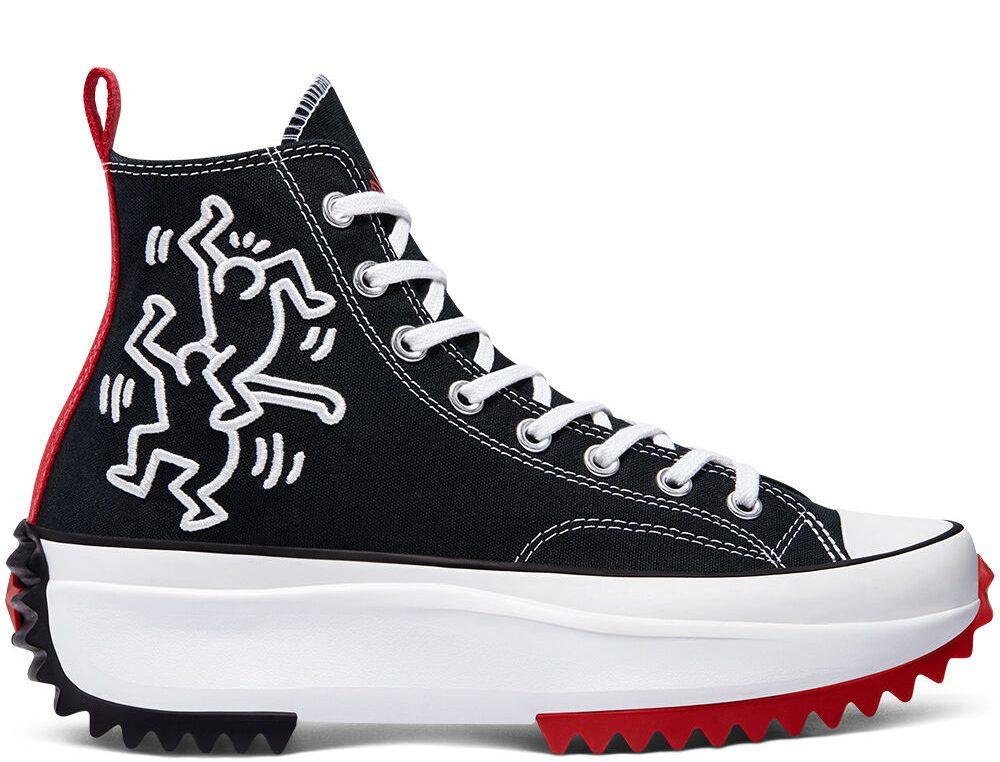 Keith Haring x Converse Run Star Hike High
