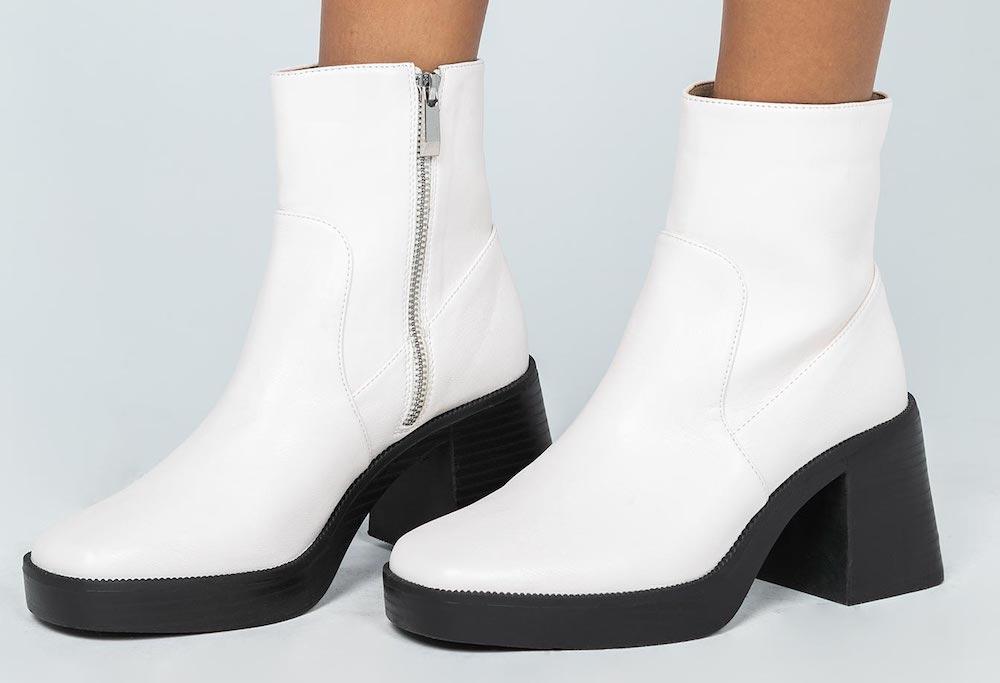 Princess Polly White Platform Boots Lil Nas
