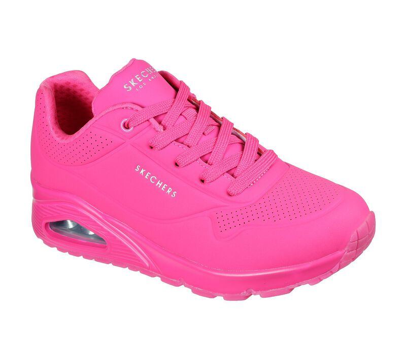 skechers, sneakers, pink