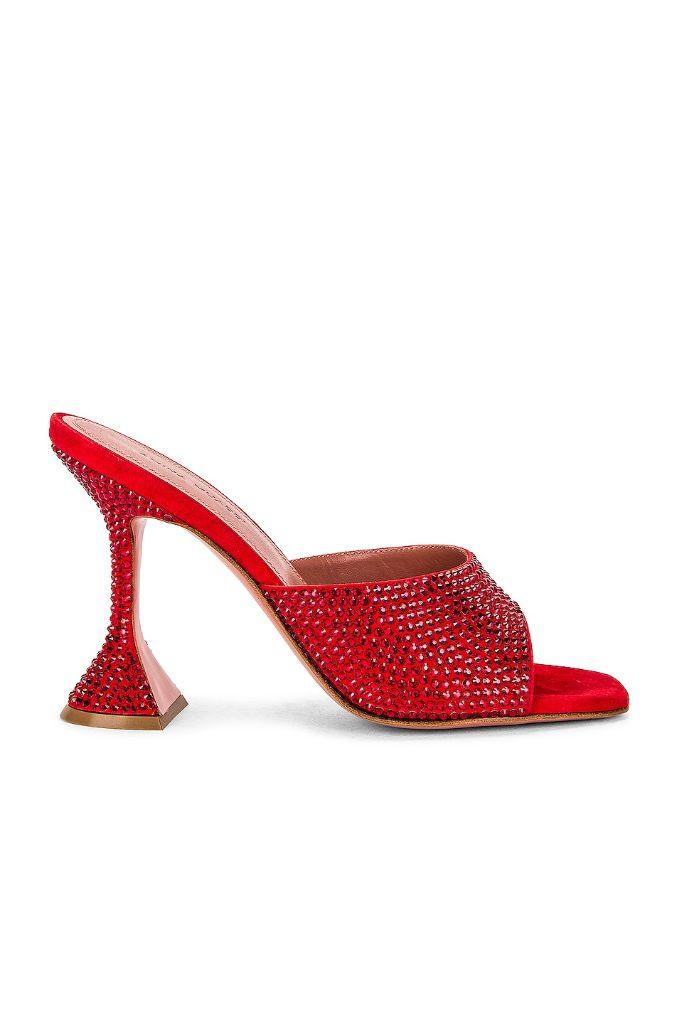 shoes, heels, high heels, shop high heels, amina muaddi, high heels to wear now, high heels are back