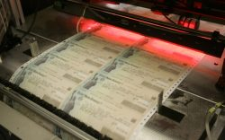 Stimulus payments roll off printing presses