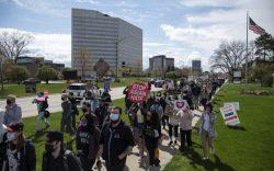 Metro Detroit activists from WWN Detroit