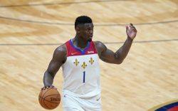 New Orleans Pelicans forward Zion Williamson