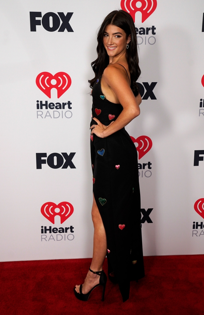 Charli D'Amelio attends the iHeartRadio Music Awards at the Dolby Theatre on Thursday, May 27, 2021, in Los Angelles. (AP Photo/Chris Pizzello)