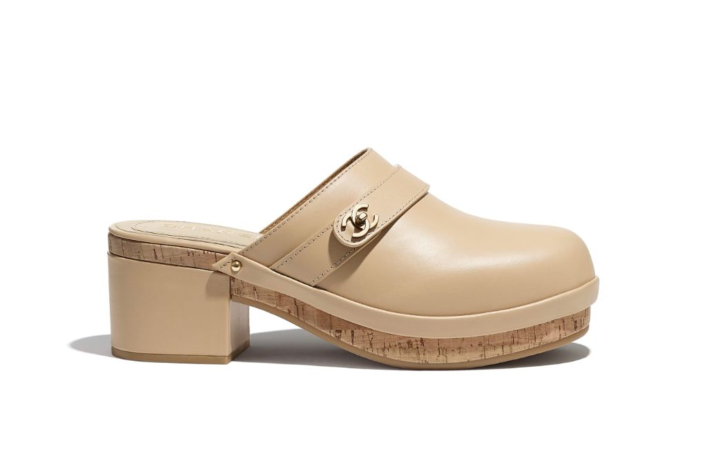 clogs, clog shoes, how to wear clogs, clog shoe trend, spring 2021 fashion trends, spring 2021 trends, trends, fashion, shoes, chanel, chanel clogs, chanel shoes, chanel fashion, chanel beauty, chanel