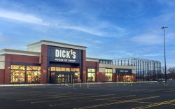 An exterior view of Dick's Sporting