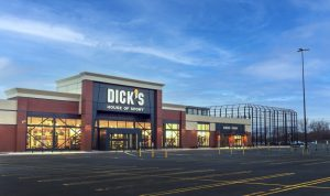 An exterior view of Dick's Sporting Goods' House of Sport in Rochester, N.Y.
