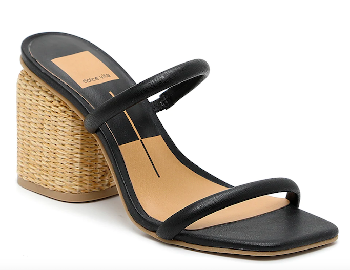dolce vita, two strap sandal