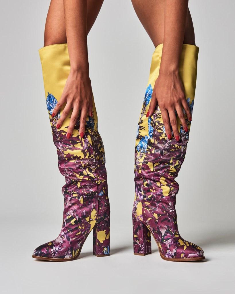 dries van noten, high heels, stacked heel boots, how to get dressed again,