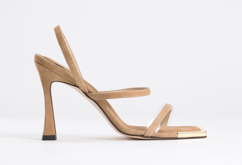 Good American Nude Sandals