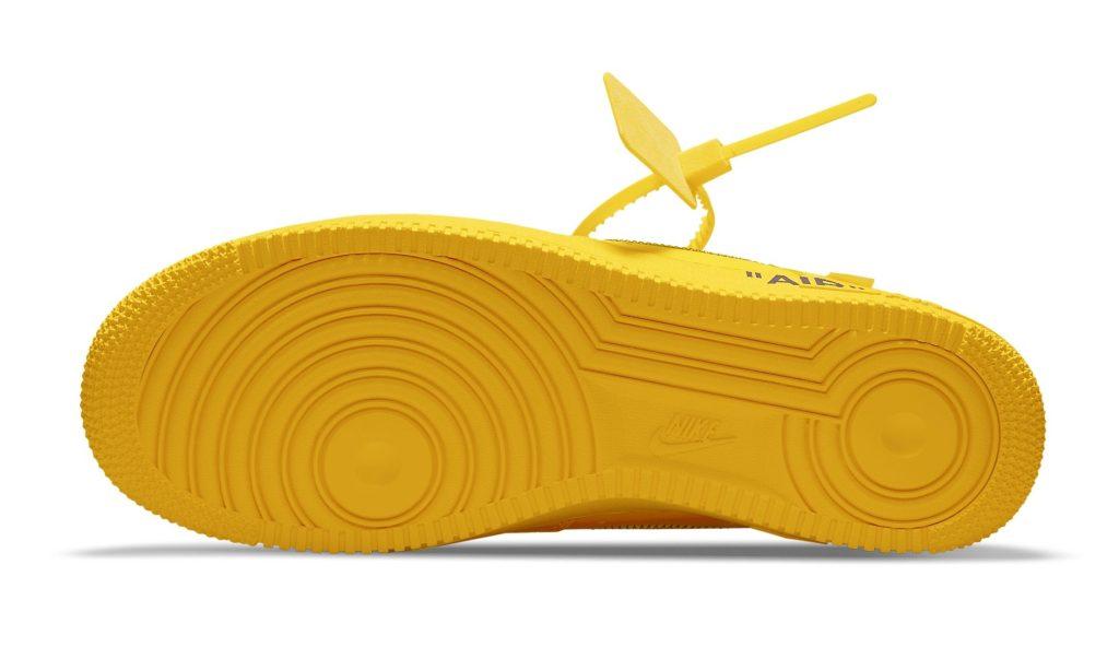 Off-White x Nike Air Force 1 Low 'Lemonade'