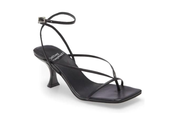 jeffrey campbell, ankle wrap sandal