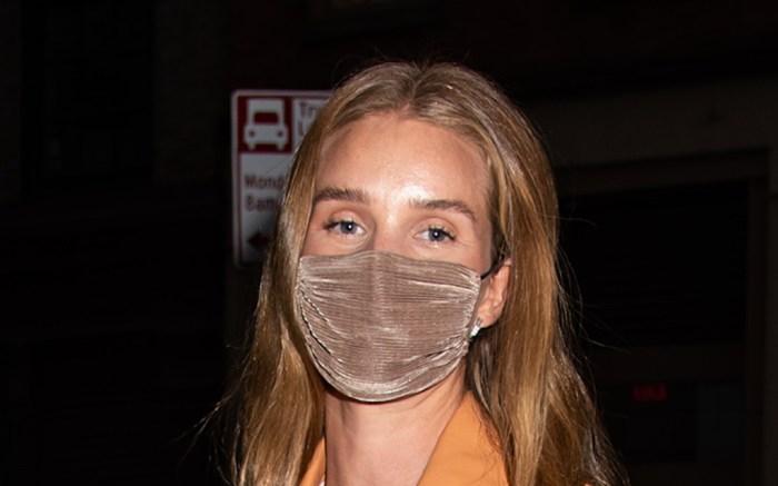 Rosie Huntington-Whiteley Sighting in NYC