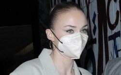 Sophie Turner, craig's, beige blazer dress,
