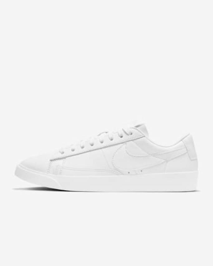 nike sneaker, nike blazer, white sneaker