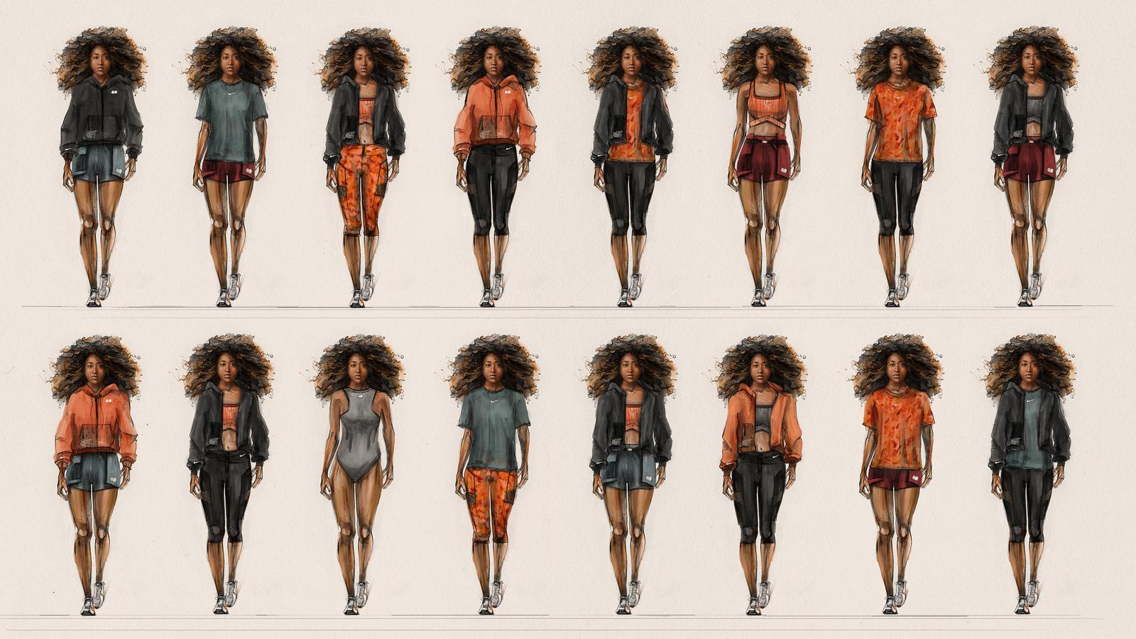 Nike x Naomi Osaka second apparel collection