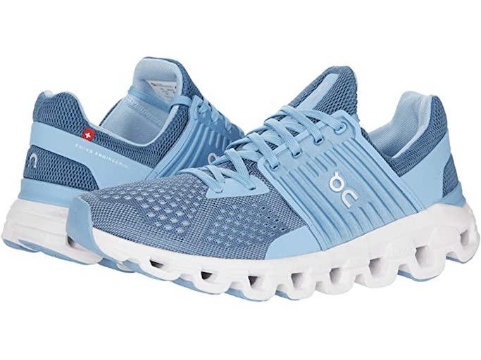 on sneakers, running sneakers
