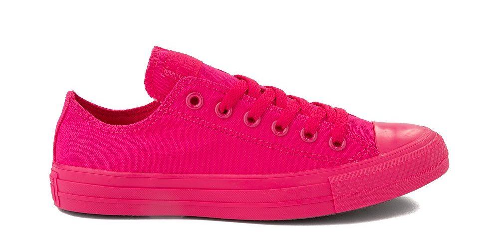 converse, sneakers, pink