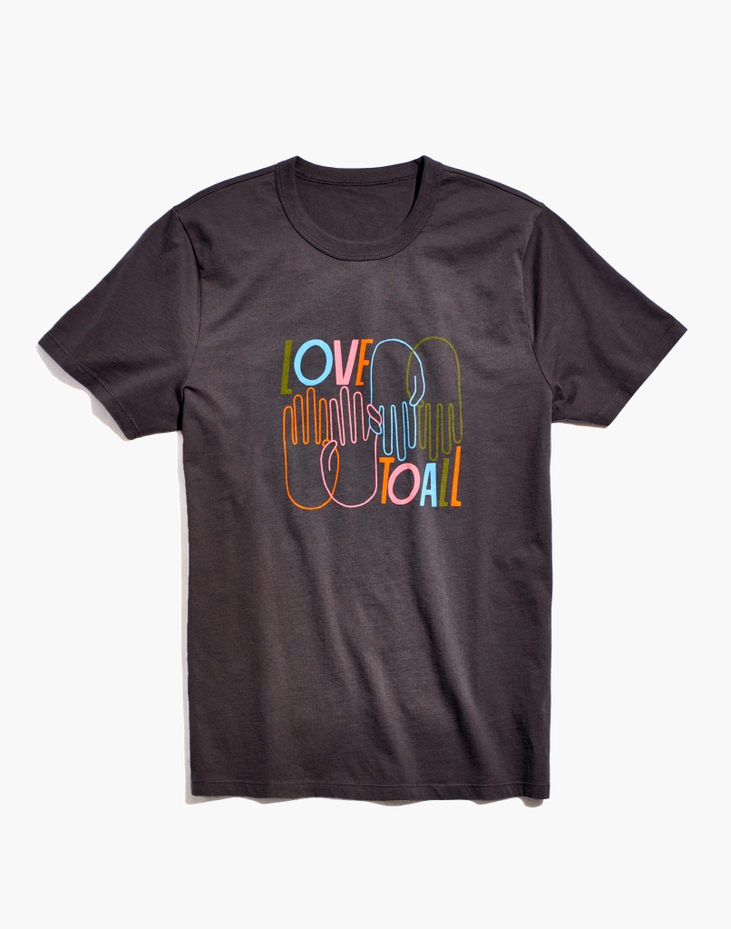 madewell pride collection shirt, pride 2021