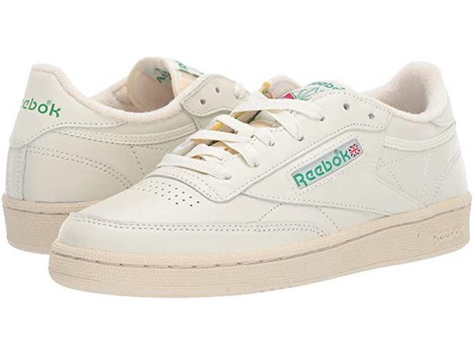 retro sneaker, reebok, white sneaker