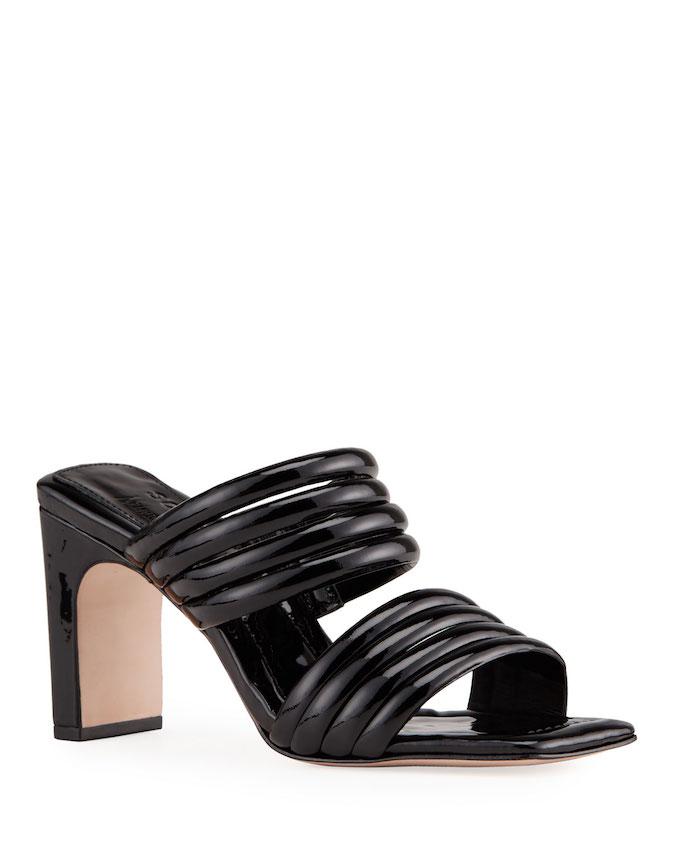 schutz, two strap sandal