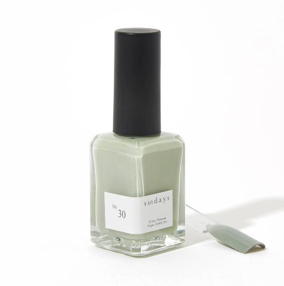 Sundays Nail Polish No.30 Sage Green