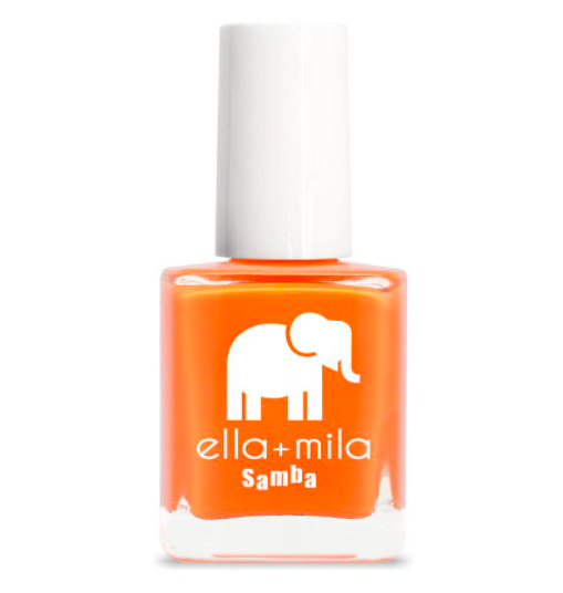 Ella + Mila Nail Polish, orange, samba