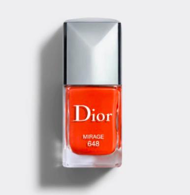 Dior Nail Polish, vernis, mirage, orange