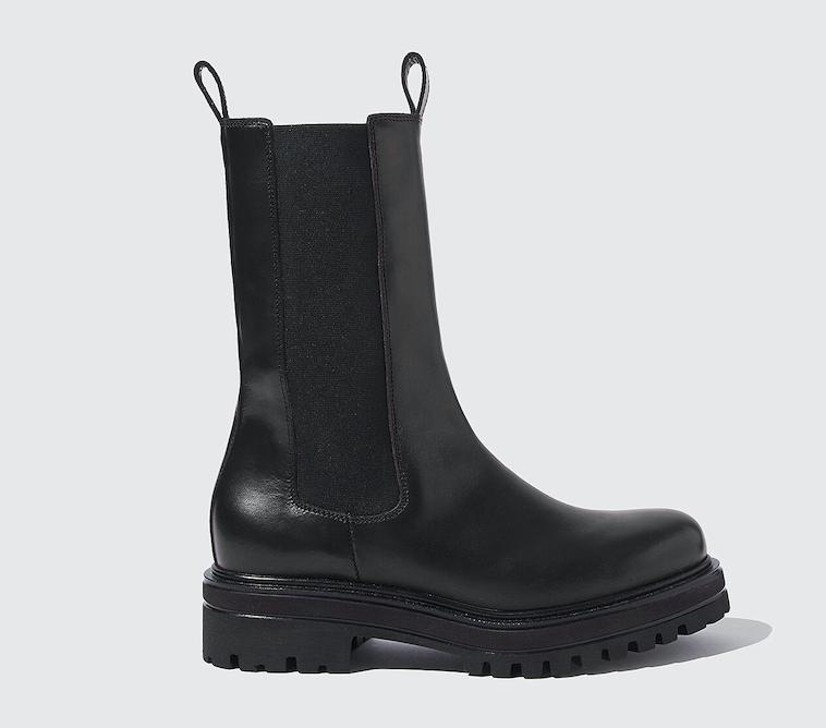 Scarosso Naomi Black Chelsea Boots
