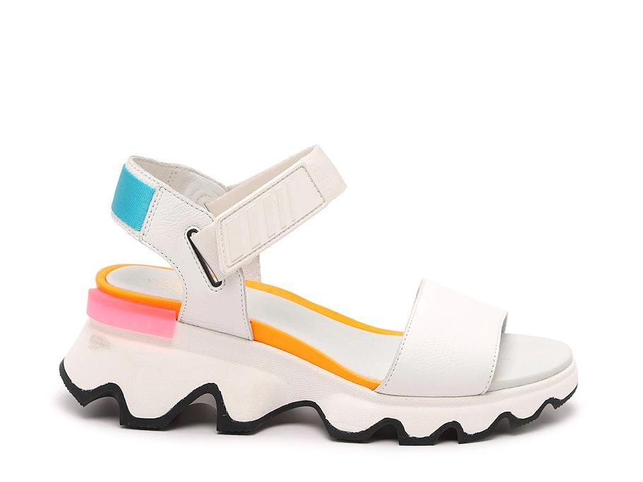Sorel kinetic sandal, best travel shoes for women